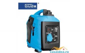 Generator de curent pe benzina cu invertor 1000 W ISG 1000   GUEDE 40645
