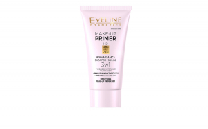 Baza de machiaj Eveline Cosmetics Make-up Primer, Smoothing 3 in 1, 30 ml