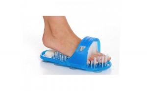 Papuc de baie cu ventuze si perii pentru masaj Easy Feet