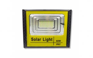 Proiector solar LED 60W, panou solar
