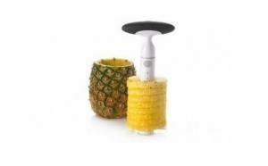 Acum, cu ingeniosul feliator si curatator pentru ananas veti decoji si felia miezul ananasului in doar 30 secunde,la pretul de 29 RON in loc de 99 RON