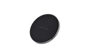 Incarcator Wireless Fast Charging Pad QI BE04 pentru iPhone, Samsung Galaxy, Round Black , Negru