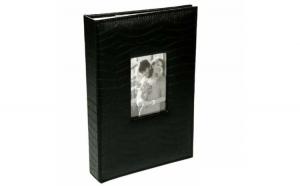 Album foto Pufo, coperta neagra, model