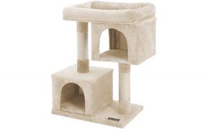 Ansamblu de joaca pentru pisici Bej 84