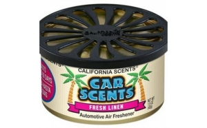 Odorizant auto fresh linen california scents