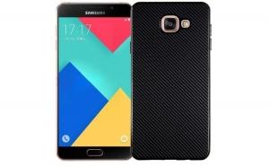 Husa Samsung Galaxy A7 2016 i-Zore Carbon Fiber Negru