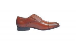 Pantofi eleganti barbati piele naturala ,Swbsa, S826-1Z, Maro