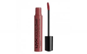 Ruj lichid mat NYX Professional Makeup Liquid Suede Cream, 04 Soft Spoken, 4 ml