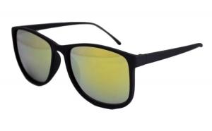 Ochelari de soare Justin verde reflexii - Negru Mat