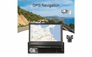 Dvd Auto retractabil, GPS harta Romaniei, cu camera