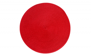 Servet de masa suport PVC 0198687 rotunda 38cm rosie