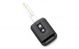 Nissan - carcasa cheie 2 butoane, (model dreptunghiular) GLZ-CC166