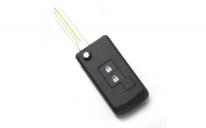 Nissan - Carcasa cheie tip briceag 2+1 butoane, model patrat (modificat) GLZ-CC167