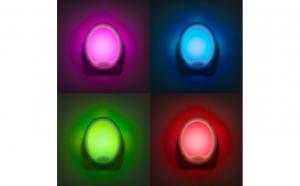 Lampa de veghe - lumina cu 7 culori