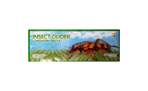 Jucarie Planor Insecte, lungime 24 cm Keycraft KCGL07IN Cerambicid