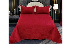 Cuvertura de pat din Catifea A16
