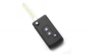 Nissan - Carcasa cheie tip briceag 2+1 butoane (modificat) GLZ-CC168