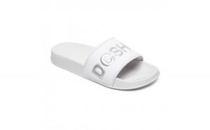 Slapi femei DC Shoes SE Suede Slides