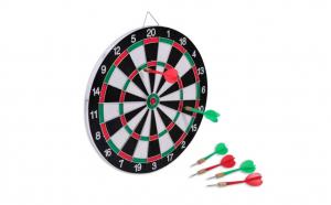 Set joc darts, 4 sageti incluse, 31 cm
