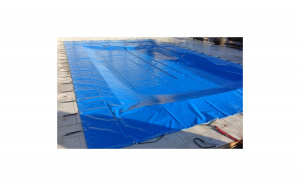 Prelata impermeabila albastra 3 x 4