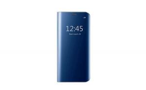 Husa compatibila Samsung Galaxy S9 Plus Book Clear View Standing Cover (Oglinda) Albastru (Blue)