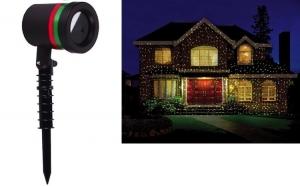 Proiector laser pentru exterior, rezistent la apa - sute de stele pe casa ta