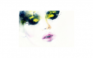 Tablou Canvas Read my Lips 95 x 125 cm