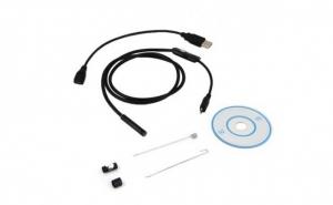 Camera endoscop cu cablu de 1m pentru telefon Android, laptop sau PC