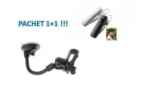 Casca Bluetooth 1+1