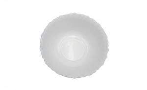 Set 6 boluri,opal,alb,18 cm