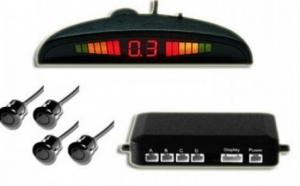 Sistem de asistenta parcare cu 4 senzori si afisaj cu led-uri, la 109 RON in loc de 199 RON! Garantie 12 luni!