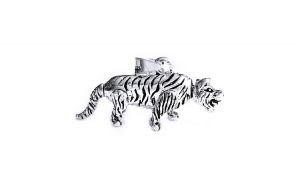 Pandant argint 925 tigru cu parti mobile