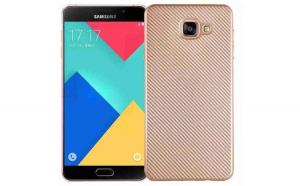 Husa Samsung Galaxy A3 2016 i-Zore Carbon Fiber Auriu