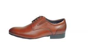 Pantofi eleganti barbati piele naturala ,Swbsa, S826-21K, Coffe