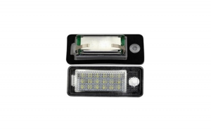 Set Lampi LED numar AUDI A4/S4 B7 8E/8H 2005-2008