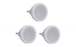 Set 3 Spoturi LED cu Senzor Luminos