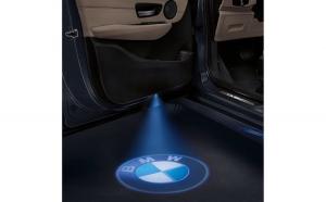 Proiectoare Portiere cu Logo BMW -