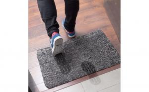 Covor absorbant pentru intrare Super Clean Mat, 46 x 72 cm