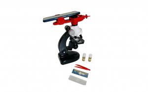 Set microscop cu suport telefon