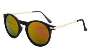 Ochelari de soare Passenger S Orange cu reflexii - Negru Mat