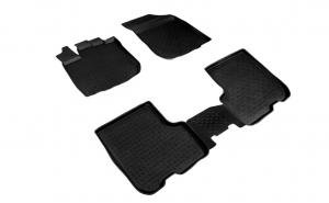 Covoare / Presuri cauciuc stil tip tavita DACIA Sandero Stepway dupa 2012-prezent (5 bucati)- SEINTEX