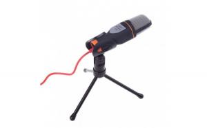 Microfon Profesional BM300 Techstar®  Inregistrare Vocala Si Karaoke  Negru