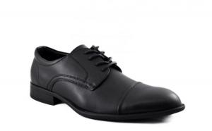 Pantofi barbatesti negri eleganti #1, Incaltaminte piele