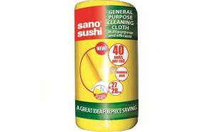 Rola lavete uscate Sano Sushi Cloth, 40buc