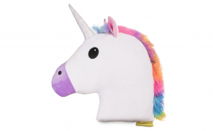 Perna Decorativa Unicorn Emoji Multicolor, XXL 50 CM, Happy Face