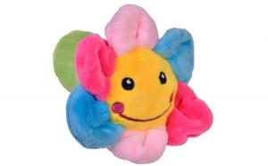 Jucarie zornaitoare.model floare. 12cm. cu sunete. multicolor
