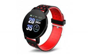 Ceas Smartwatch Techstar® 119 Rosu  1.3