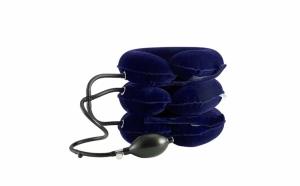 Guler cervical de tractiune, cu pompa