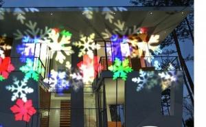 Proiector Premium cu Fulgi Colorati pentru exterior si interior