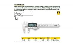 Subler digital 230 mm ra 0-150